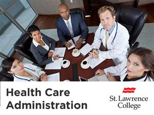 Health Care Operations - St. Lawrence College of Applied Arts and Technology